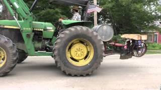 getlinkyoutube.com-Peacham Vermont, Tractor Parade 2015