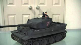 getlinkyoutube.com-Tiger 1, VsTank.  VSPro Radio Controlled infra red series. 1/24 Scale