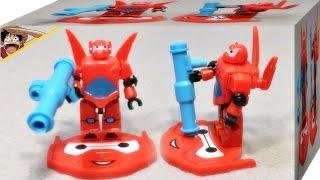 getlinkyoutube.com-빅히어로6 베이맥스 Sltoys 레고 호환 크레오 디즈니 미니피규어 리뷰 Lego kreo Big Hero 6 baymax mini figures