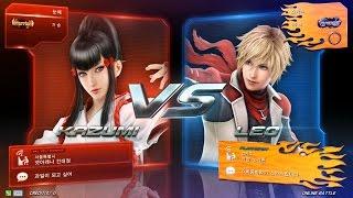 getlinkyoutube.com-TEKKEN 7 10/13 Kazumi - Online Battle (철권7 카즈미)