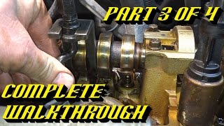 getlinkyoutube.com-Ford 5.4L 3v Engine Timing Chain Kit Replacement Pt 3 of 4: Valvetrain Component Removal