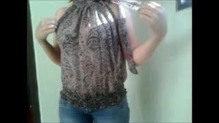 getlinkyoutube.com-Como Hacer una Blusa Halter