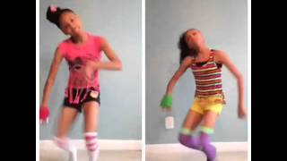getlinkyoutube.com-SUPA PEACH VS PEACHEZ ( DLOW SHUFFLE DANCE )