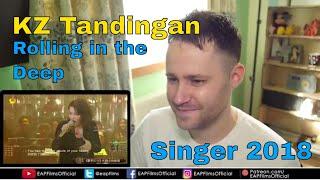 KZ Tandingan - Rolling in the Deep (China Singer 2018)   REACTION