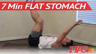 getlinkyoutube.com-7 Minute Flat Stomach Workout - HASfit Get A Flat Stomach Exercises - Flatter Stomach Work Out