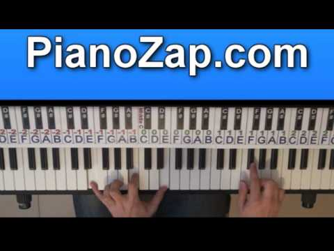 How To Play Payphone - Maroon 5 On Piano Tutorial