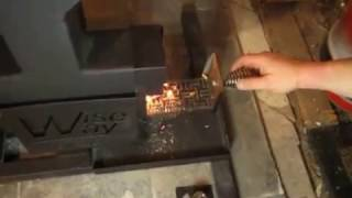 getlinkyoutube.com-Wiseway Wood Pellet Stove Review from The Homestead Survival