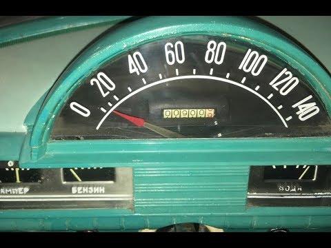 Новый ГАЗ 21 с хранения СССР с пробегом 900 км