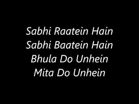 Atif Aslam's Aadat's Lyrics