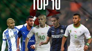 getlinkyoutube.com-أحسن 10 مراوغات لمحترفي الجزائر في الدوريات العالمية ● 2015 | Top 10 DZ dribbles