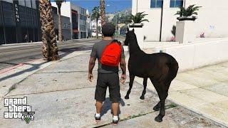 getlinkyoutube.com-GTA 5 REAL LIFE MOD#6-GTA 5 ROLEPLAY-HORSE RIDING