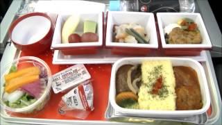 getlinkyoutube.com-JAPAN AIRLINES - JAL407 Narita-Frankfurt Premium Economy Class