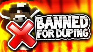 getlinkyoutube.com-BANNED FOR DUPING!? ( Minecraft Crazy Walls - Minigames w/ TheCampingRusher )