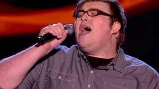 The Voice UK 2013 | Ash Morgan performs 'Never Tear Us Apart' - Blind Auditions 1 - BBC One width=