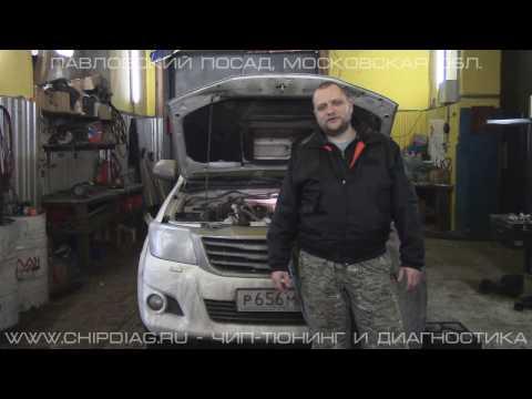 Toyota Hilux 1KDFTV Чип-Тюнинг Отключение ЕГР
