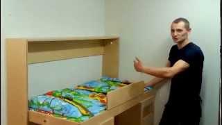 getlinkyoutube.com-детская двухъярусная кровать трансформер