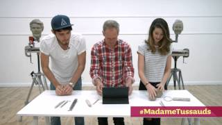 getlinkyoutube.com-Zoella & Alfie challenge: 'Strictly Come Sculpting' | Madame Tussauds