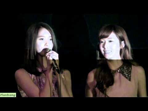 Jessica, YoonA - 120629 I am(Movie) Stage Greetings(CGV Gimpo Airport) 2 by Hanbang