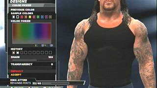 WWE 2k15- The Undertaker Wrestlemania 17 CAW Formula