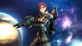 getlinkyoutube.com-R242 Square Enix Play Arts Kai Mass Effect 3 Female Commander Shepard Review