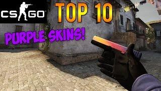 getlinkyoutube.com-CS GO - Top 10 Purple Skins! (Best Restricted Rarity Skins)
