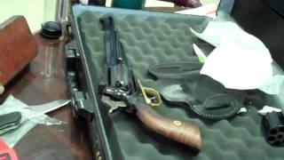 getlinkyoutube.com-1851 Navy Colt,  replica, shot by Wild Bill himself!