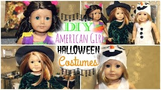 getlinkyoutube.com-3 Easy DIY Halloween Costumes for American Girl Dolls!