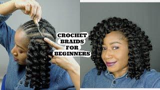 getlinkyoutube.com-CROCHET BRAIDS DIY BEGINNER FRIENDLY || BOUNCY CURLY WAND HAIR