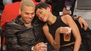 getlinkyoutube.com-Chris Brown & Rihanna Caught Snuggling