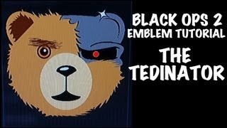 getlinkyoutube.com-THE TEDINATOR ted terminator Ted emblem tutorial Black ops 2