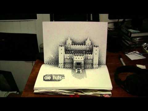 AETuts+ 3D Castle Scene Sketchbook Projection