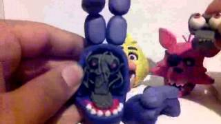 Five Nights at Freddy's - Plasticine characters.