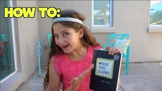getlinkyoutube.com-Watch me    Wreck this Journal ! #1