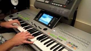 getlinkyoutube.com-Tyros 3: Ballade pour Adeline - Richard Clayderman