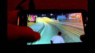 getlinkyoutube.com-GTA SA Android (GTA IV anim mod) - Gameplay on HTC Sensation