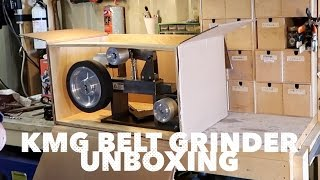 getlinkyoutube.com-KMG Belt Grinder   Unboxing & Initial impression