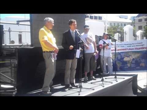 Global March for Lions Dr Mario Ambrosini's Speech- Cape Town