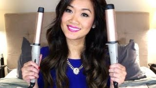 getlinkyoutube.com-How To Use A Remington Curling Wand (1in. vs 1.5 in.) + Announcement