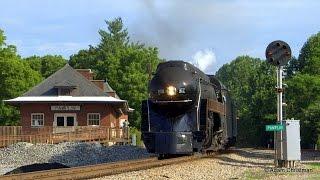 getlinkyoutube.com-Norfolk & Western 611 - The Cavalier