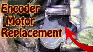 DIY How To Replace S10 Blazer 4WD Transfer Case Encoder Motor GMC 4x4 Transfer Case Motor Repair