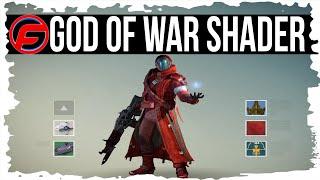 getlinkyoutube.com-Destiny How to Unlock GOD OF WAR SHADER How to GET GOD OF WAR SHADER