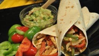 getlinkyoutube.com-Fajitas de pollo Mexicanas