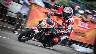 getlinkyoutube.com-Honda CBR150R vs CB150R (Honda Racing Championship 2015 Cimahi)