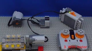 getlinkyoutube.com-Tutorial: Lego Power Functions - Connect - Motor and Wheel