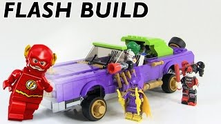 getlinkyoutube.com-Speed Build! LEGO Batman Movie The Joker Notorious Lowrider Time Lapse