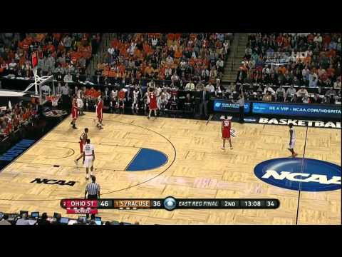 #1 Syracuse vs #2 Ohio State Ncaa Tournament Elite 8 2012 (Full Game)