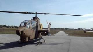 Cobra AH1S First flight Start up