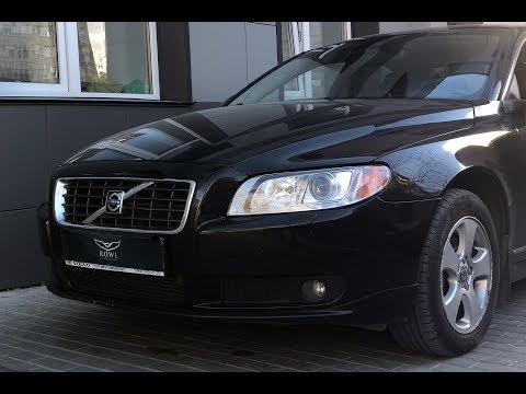 Volvo S80   Установка биксеноновых линз HELLA, Детейлинг