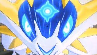 getlinkyoutube.com-【ポケモン サンムーン】 伝説のポケモン ソルガレオ (ルナアーラ) 捕獲イベント