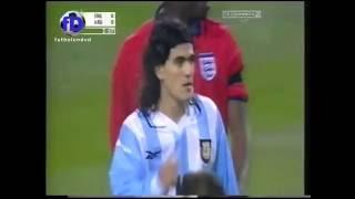 England v Argentina 2000